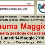 Trauma maggiore: ruolo dell'Infermiere nella gestione del paziente traumatizzato grave