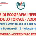 CORSO BASE DI ECOGRAFIA INFERMIERISTICA MODULO TORACE - ADDOME