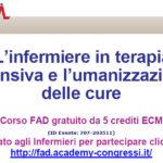 L'infermiere in terapia intensiva e l'umanizzazione delle cure: corso FAD
