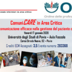 ComuniCARE in Area Critica – Una comunicazione efficace nella gestione del paziente critico